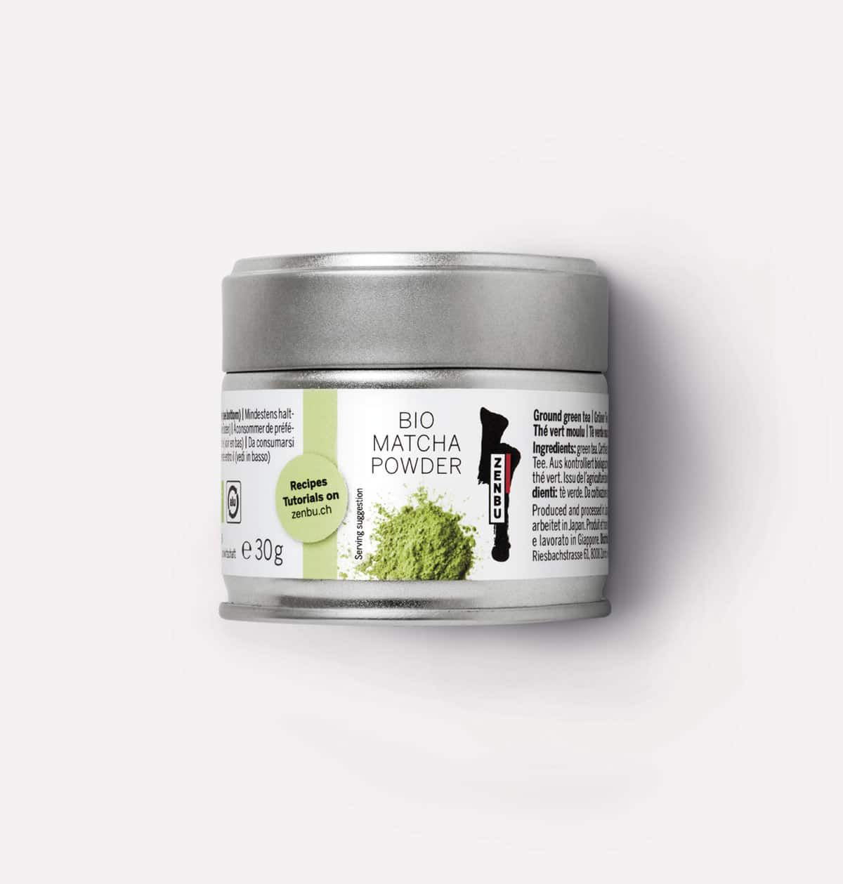 Zenbu Matcha Powder Packaging Design